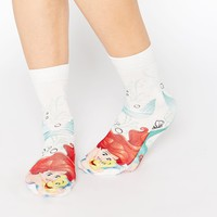 ASOS Disney's Little Mermaid Ankle Socks at asos.com