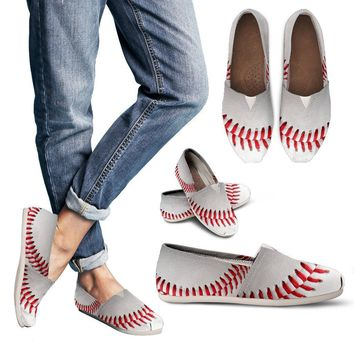 Custom Printed 3D Baseball Casual Shoes