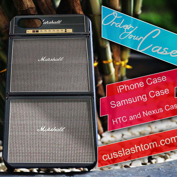 Exclusive Marshall Guitar Amplifier iPhone for 4 5 5c 6 Plus Case, Samsung Galaxy for S3 S4 S5 Note 3 4 Case, iPod for 4 5 Case, HtC One M7 M8