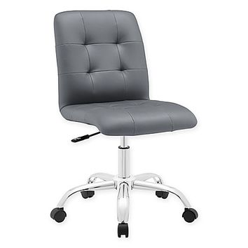 Modway Prim Armless Mid-Back Office Chair