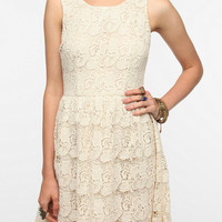 Thistlepearl Chunky Lace Tank Dress