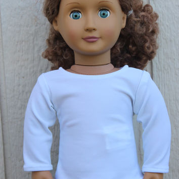 American Girl Doll Long Sleeved Shirt