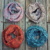 Cozy Does It Knit Infinity Scarves