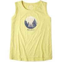 Women's Less Is More Muscle Tank|Life is good