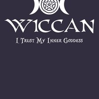 'Wiccan -- Trust Your Inner Goddess' Women's Relaxed Fit T-Shirt by Samuel Sheats