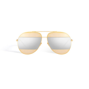 Dior - Split Gray Sunglasses