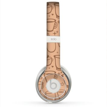 The Vintage Vector Coffee Mugs Skin for the Beats by Dre Solo 2 Headphones