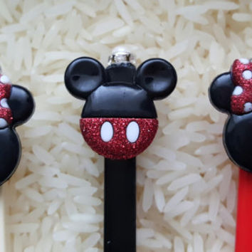 Personalized Chopsticks ~ Mickey Mouse ~ Minnie Mouse ~ Custom Chopsticks ~ Hairsticks ~ Birthday Gifts ~ Girls Gifts ~ Party Favors ~ Fun