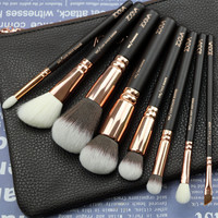 New Arrival Zoeva 8pcs Makeup Brushes Professional Rose Golden Luxury Set Brand Make Up Tools Kit Powder Blend brushes-in Makeup Brushes & Tools from Health & Beauty on Aliexpress.com | Alibaba Group