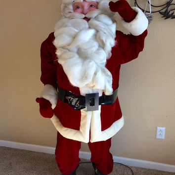 Vintage Harold Gale Mechanical Santa 1940's Christmas Store Window Display *Free Shipping to Continental US*