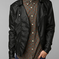 KC By Kill City Vegan Leather Moto Jacket