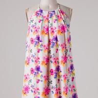 Floral Frock - Cream