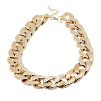 Fashion Necklaces For Women 2014 Christmas Gift CCB Gold Chain Statement Necklaces & Pendants Collares Women Jewelry Accessories