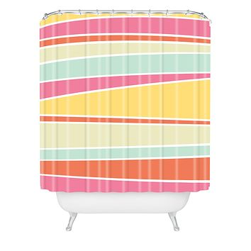 Caroline Okun Delicious Shower Curtain