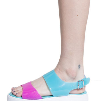 COLORFUL JELLY WEDGE