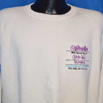 80s Cinderella Long Cold Summer Canada Tour Sweatshirt Large