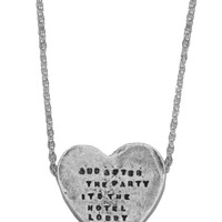 Heartbeats Necklace - R. Kelly - Necklaces - Jewelry | GYPSY WARRIOR