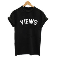 Fashion Views Drake T Shirt Summer Tumblr Views From The 6 Shirt Hotline Bling Tshirt