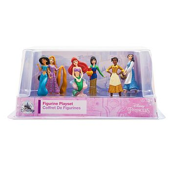 Disney Princess Once Upon a Time Figure Play Set Cake Topper Playset New