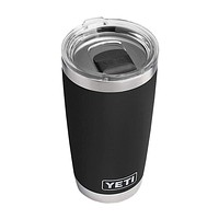 20 oz. DuraCoat Rambler Tumbler in Black with Magslider™ Lid by YETI