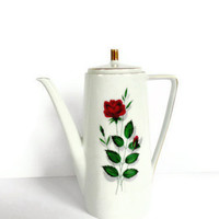 Mitterteich Bavaria Rose Coffee or Teapot
