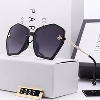 GUCCI Bee Woman Men Fashion Summer Sun Shades Eyeglasses Glasses Sunglasses
