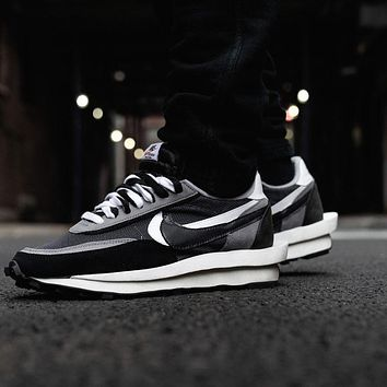 UNDERCOVER x Nike Waffle Racer retro simple wild jogging shoes