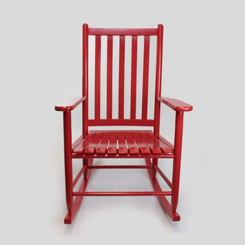 Dixie Seating Co. Asheville Wood Adult Rocking Chair No. 95SRTA - Ships within  2 to 4 Weeks