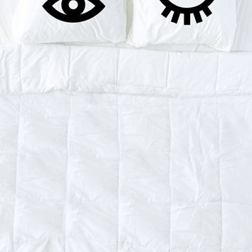 Winking Eyes Pillow Cases