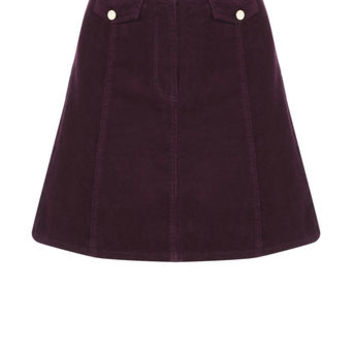 CORD POCKET MINI SKIRT