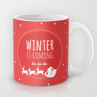 Christmas Mug by Jane Mathieu | Society6