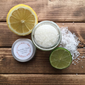 Lemon & Lime Body Salt Scrub