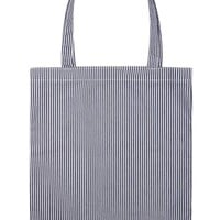 Pinstriped Tote Bag
