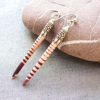 Sea Urchin Collection Stripey Sea Urchin Spine by staroftheeast