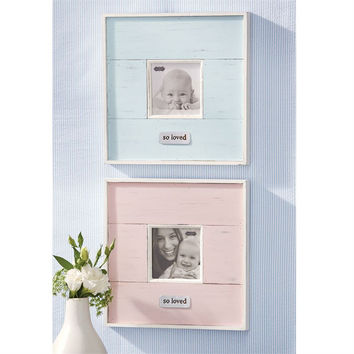 "Mud Pie ""Pink"" So Loved Frame"