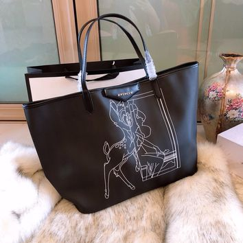 Givenchy Pattern Print Shopping Bag Tote