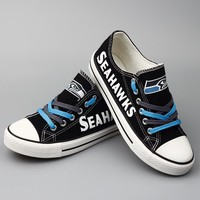 Seattle Seahawks Canvas Sneakers