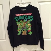 Teenage mutant ninja turtles crew neck
