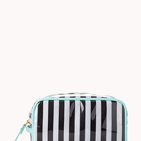 Candy Striped Cosmetic Bag