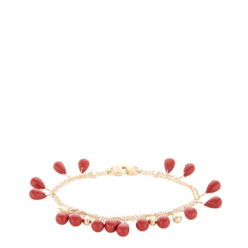 Marco Bicego Women's Acapulco Coral Double Strand Bracelet - Red