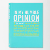 In My Opinion Mini Inner Truth Journal