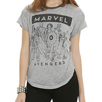 Marvel Group Girls T-Shirt