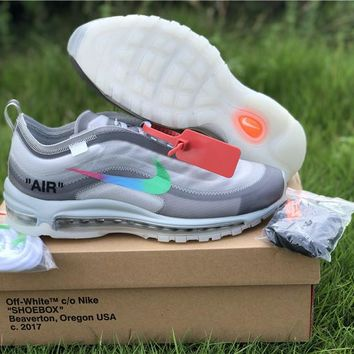 NIKE OFF WHITE MAX 97 OW  36---45