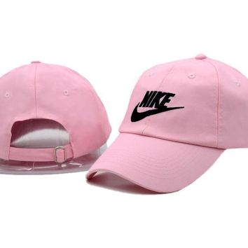 Pink Nike Authentic Dri-FIT Low Profile Swoosh Front Adjustable Cap