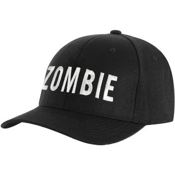 Rob Zombie Men's  Logo Baseball Cap Black Rockabilia