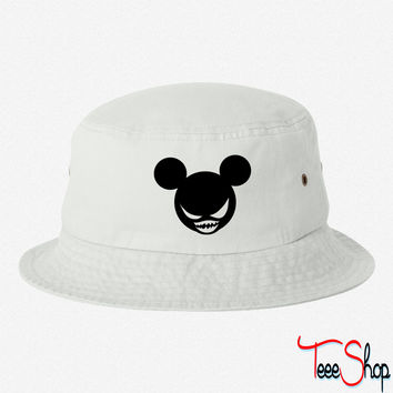 Evil Mickey bucket hat