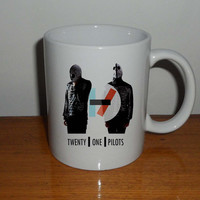 twenty one pilots,  Coffee Mug, Tea Mug, Mug for Gift,mug coffee, mug tea, size 8,2 x 9,5 cm