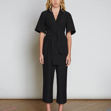 Highlight Jumpsuit - Black - The Birdcage Boutique