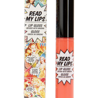The Balm Read My Lips Pop! Soft Coral Lip Gloss