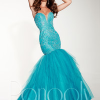 Panoply 14814 Layered Skirt Formal Prom Dress